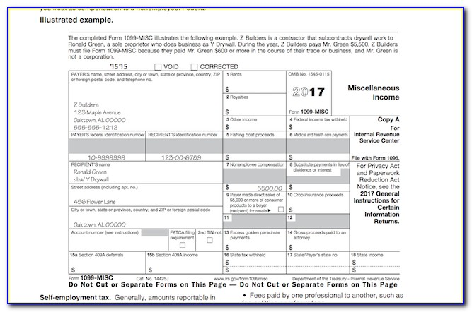 1099 Fillable Form 2016