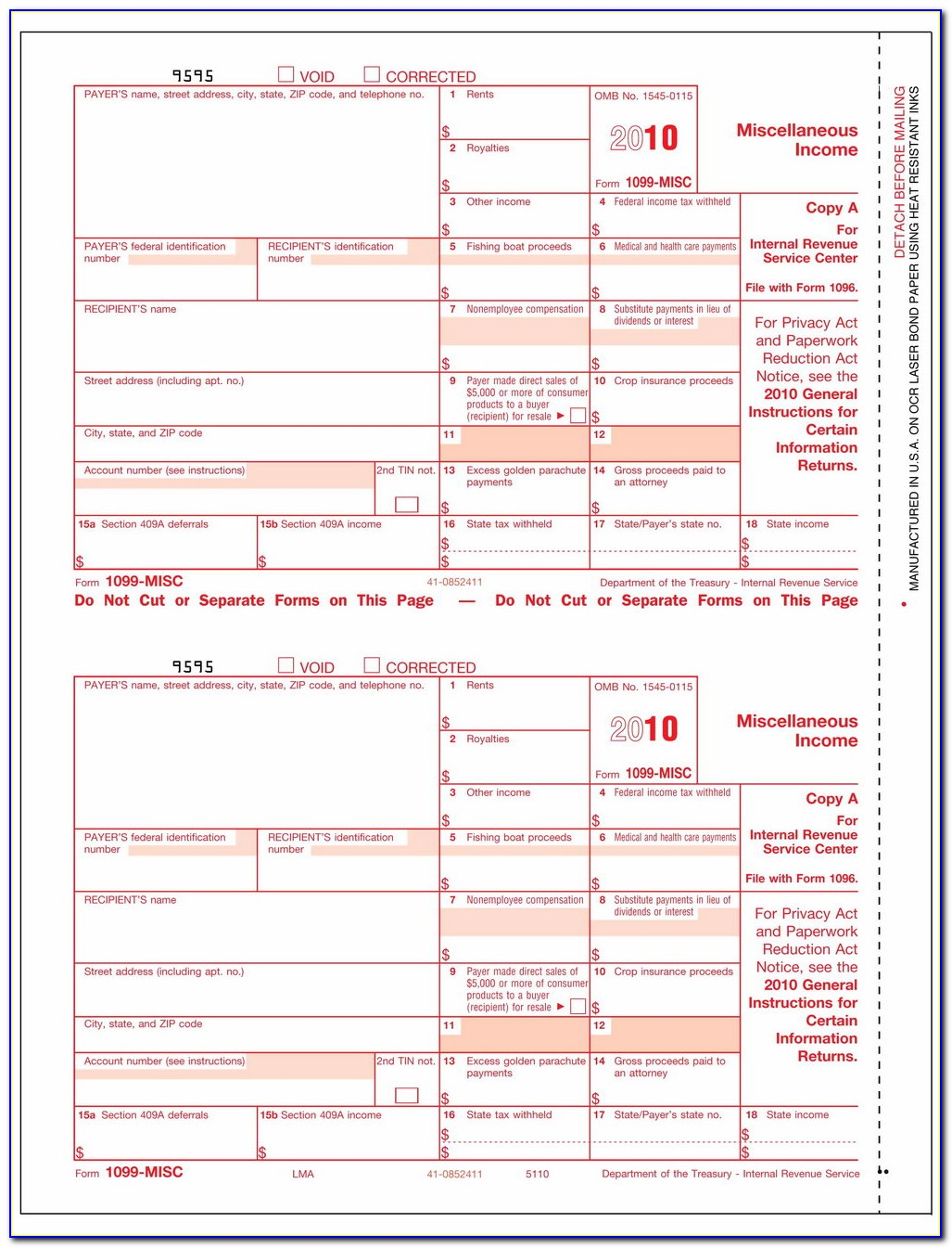 1099 Misc Form Definition
