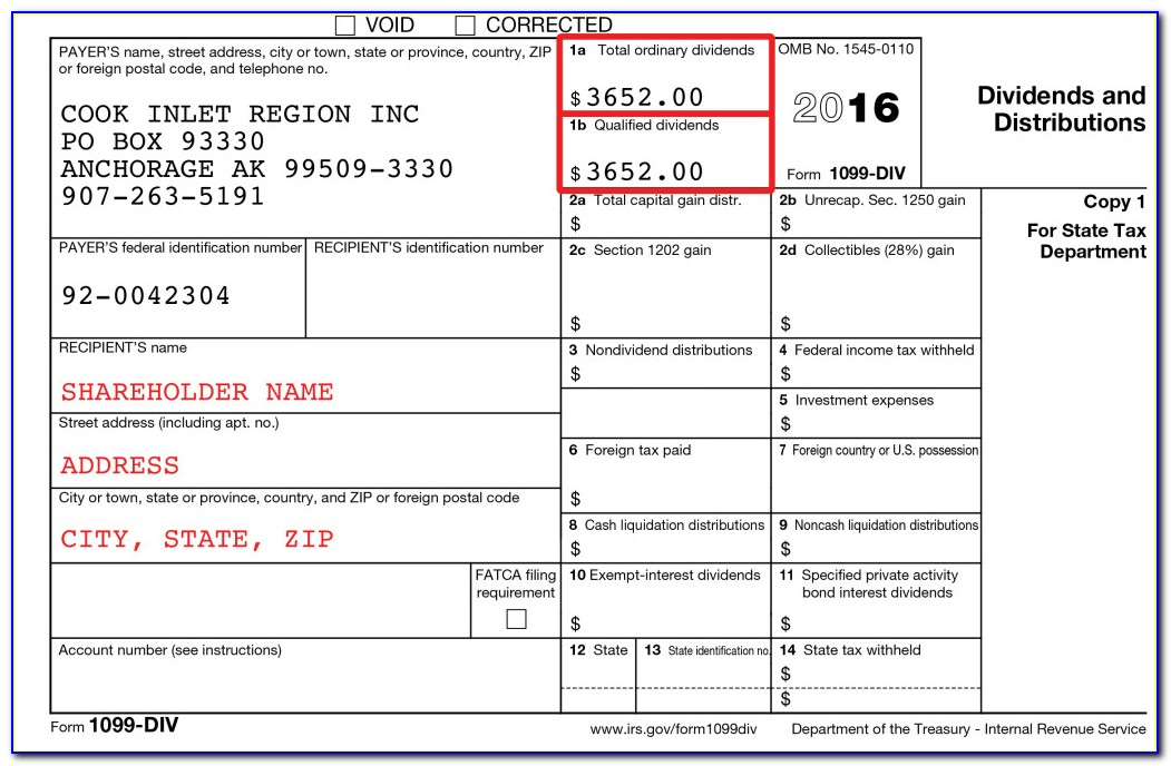 1099 Misc Tax Form 2016
