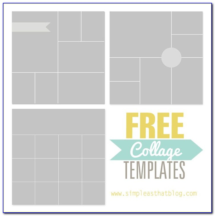 12 Month Photo Collage Template