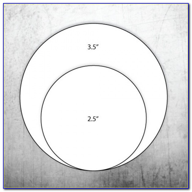 2.5 Inch Round Label Template