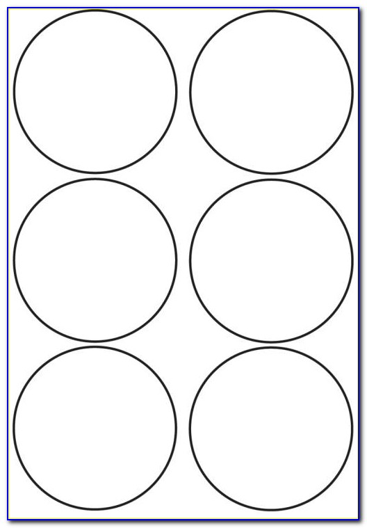 3.5 Inch Circle Template Word