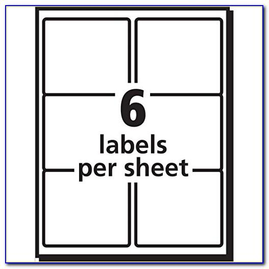 3×4 Label Template Word