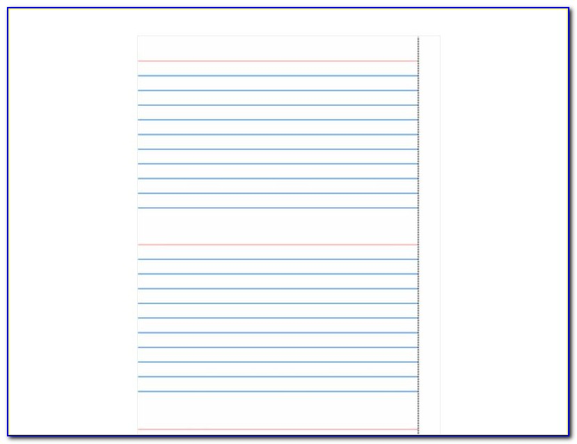 3×5 Index Card Template Microsoft Word 2018