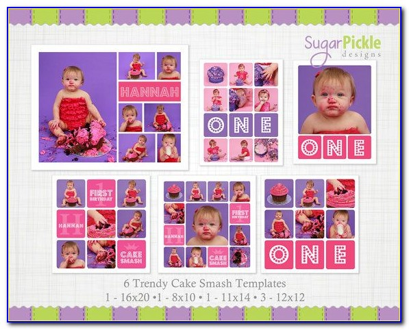 40th Birthday Photo Collage Template