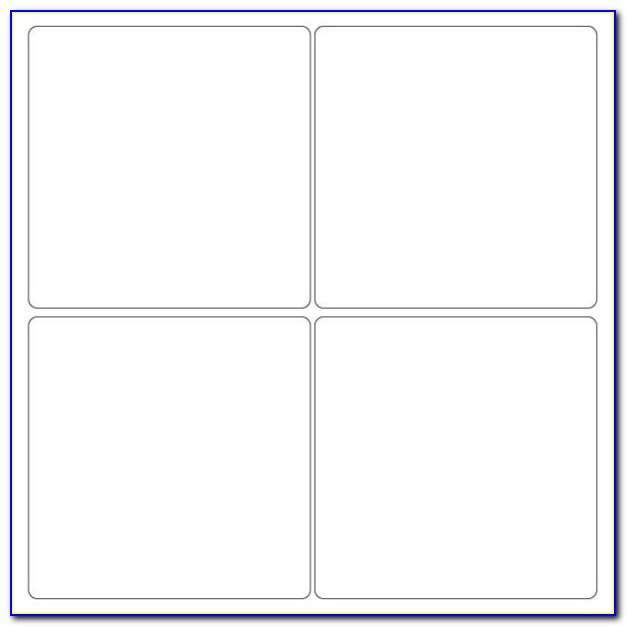 4×4 Label Template Word