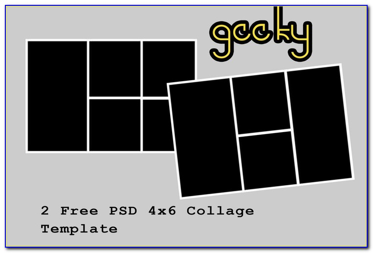 4×6 Collage Template Free