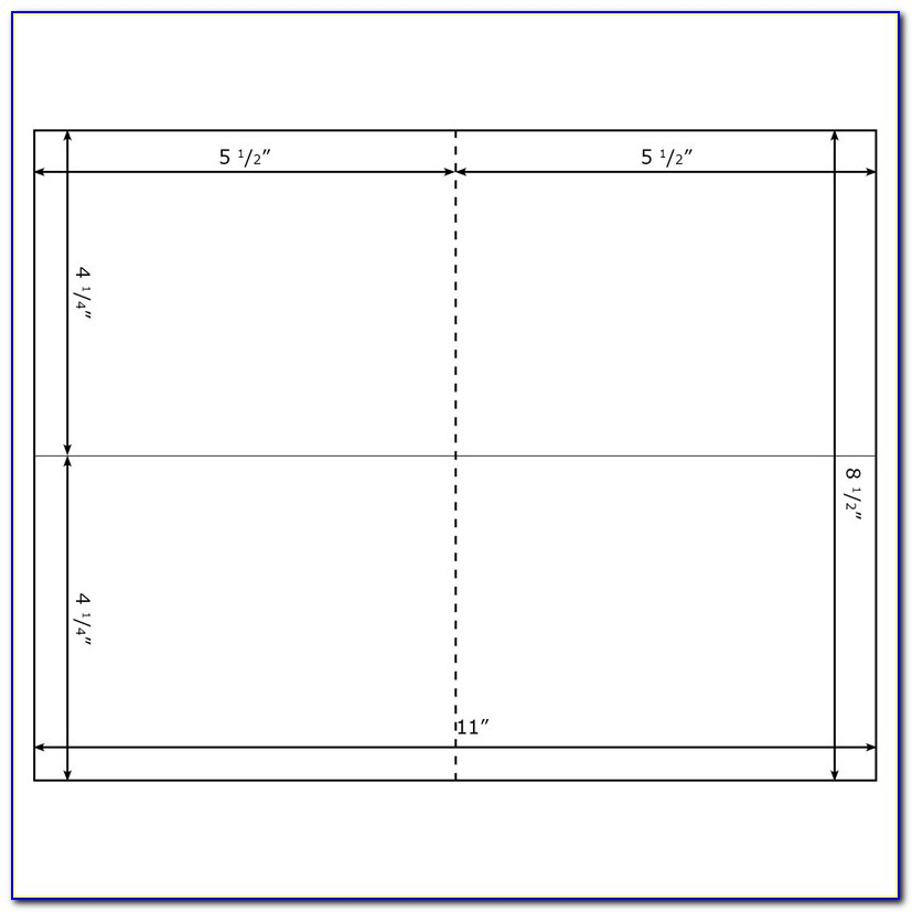 4×6 Greeting Card Template Word