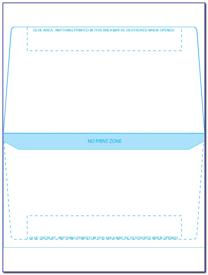 6.75 Remittance Envelope Template