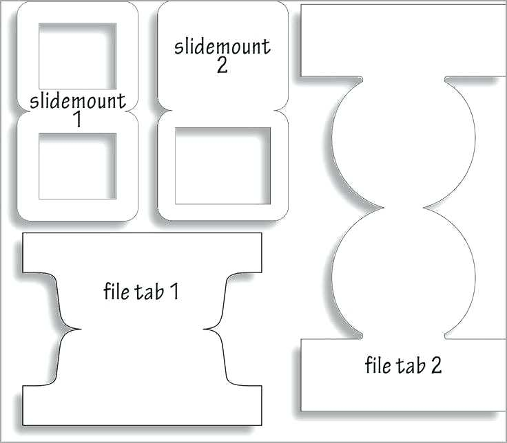 8 Tab Divider Template Word