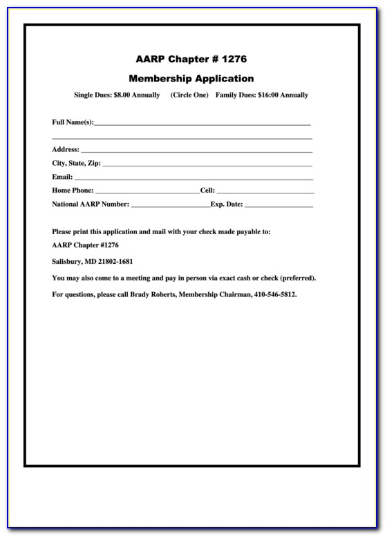 Aarp Free Legal Forms