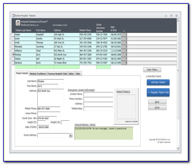 Access Inventory Database Template 2013