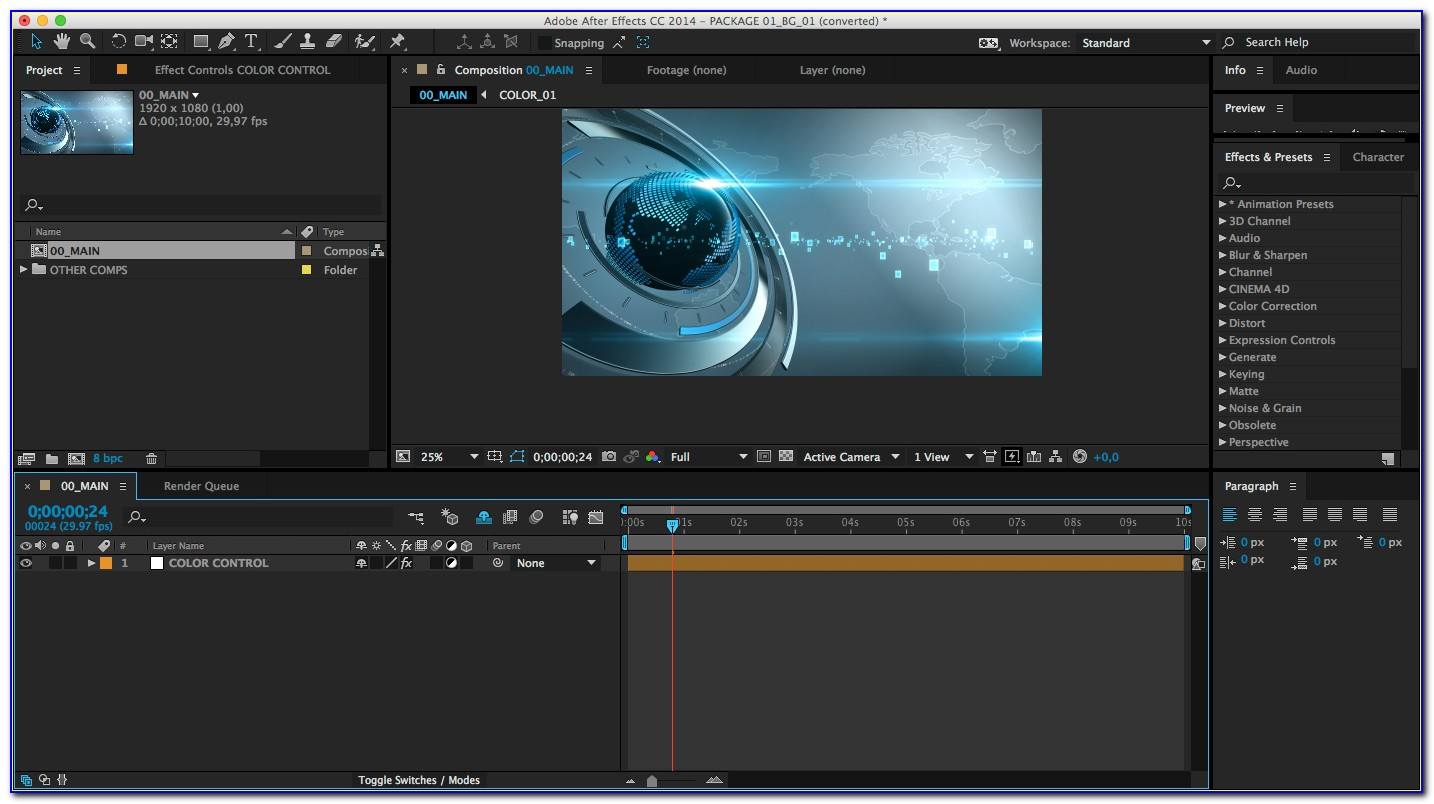 Adobe After Effects Background Templates Free