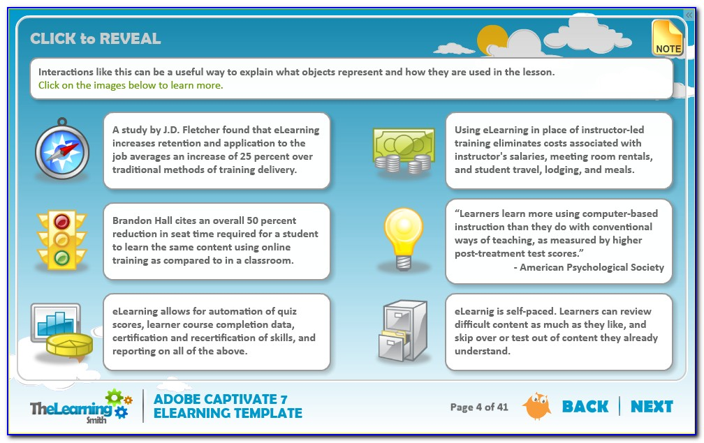 Adobe Captivate Elearning Templates