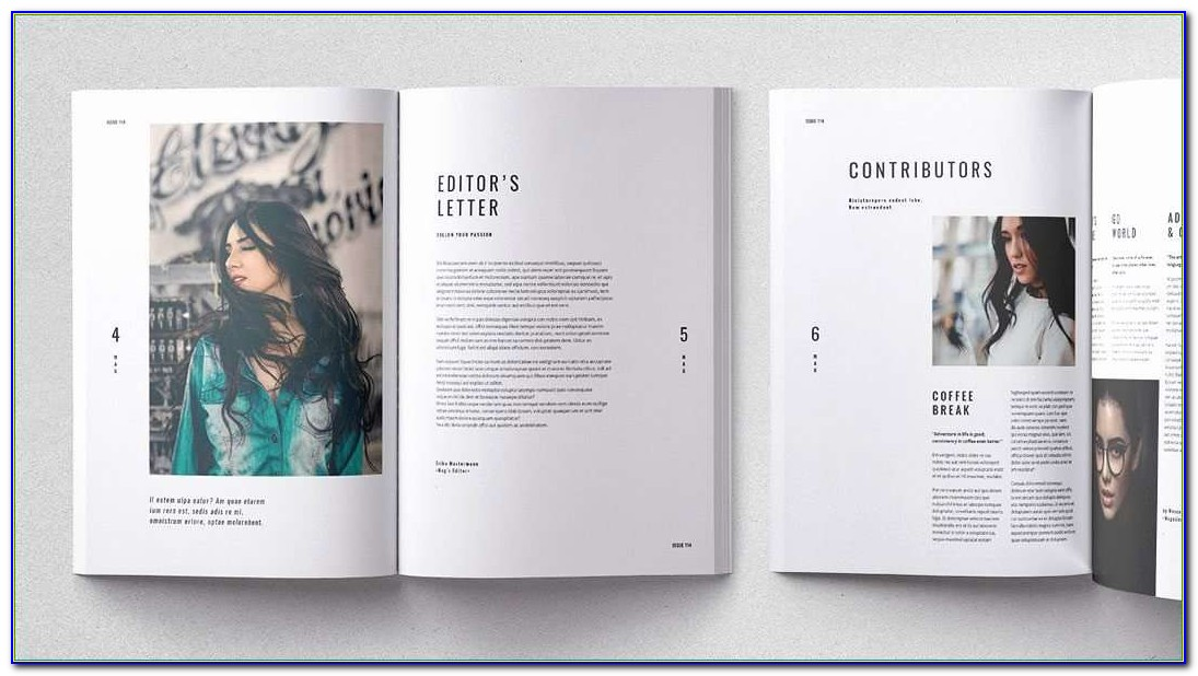 Adobe Indesign Brochure Templates Free Luxurious Cult Adobe Indesign Magazine Template