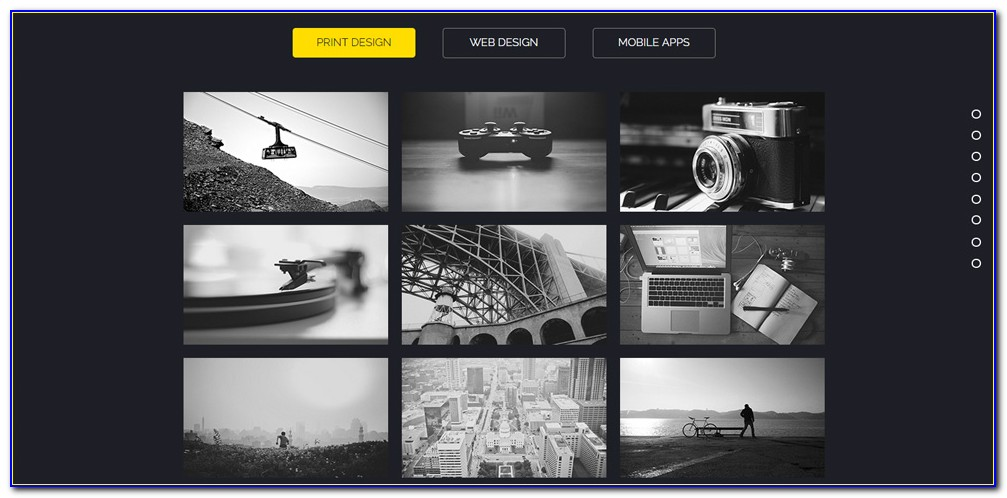Adobe Muse Responsive Templates Free Download