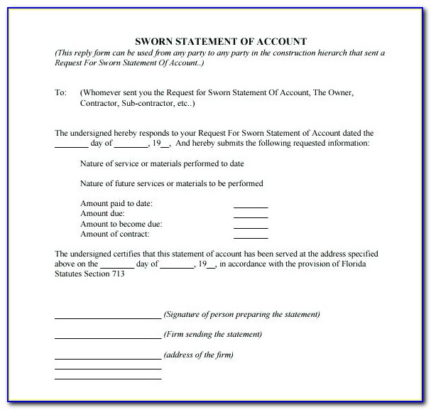 Affidavit Template South Africa Travel