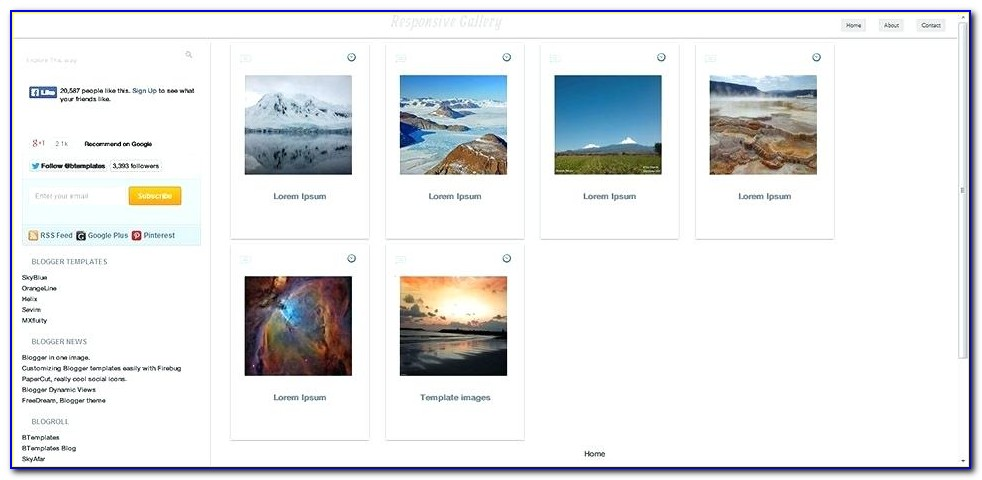After Effect Photo Collage Template