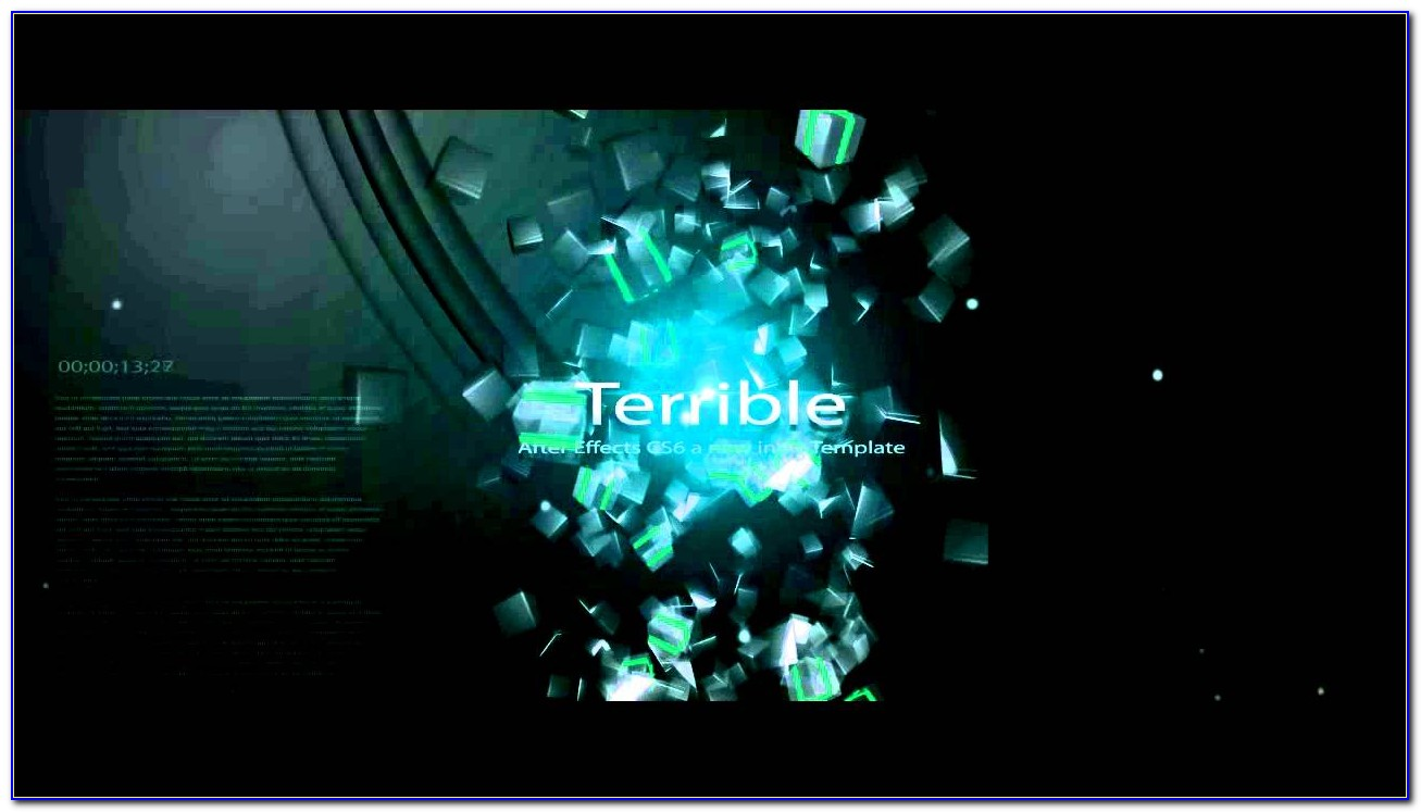 After Effects Intro Templates Free Download Cs4