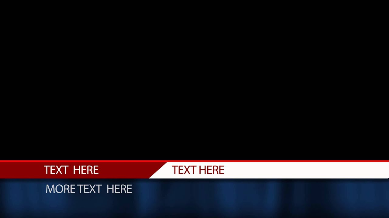 After Effects Lower Third Templates Download