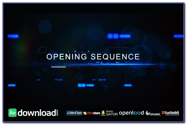 After Effects Opening Title Templates