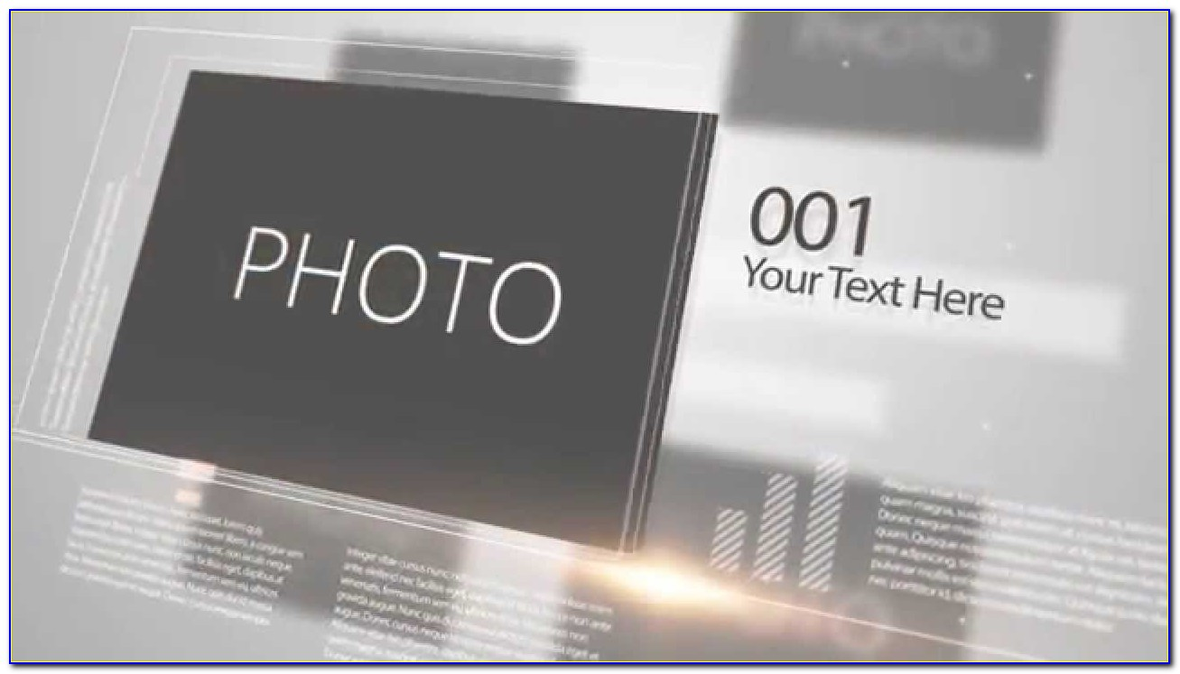 After Effects Photo Collage Template