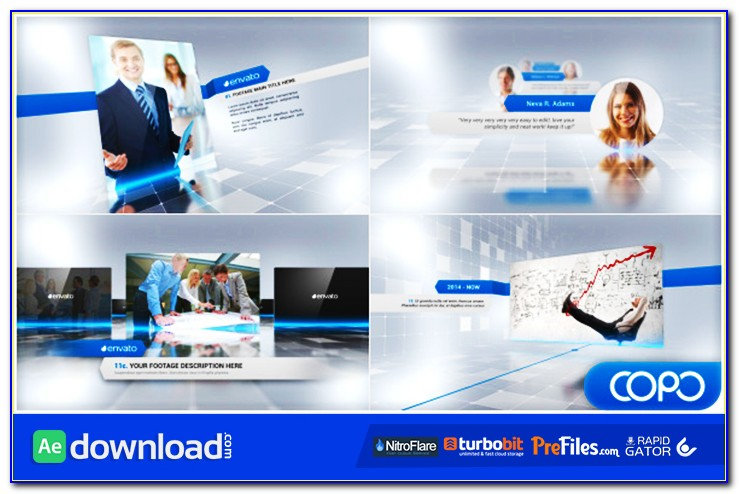 After Effects Presentation Template Free