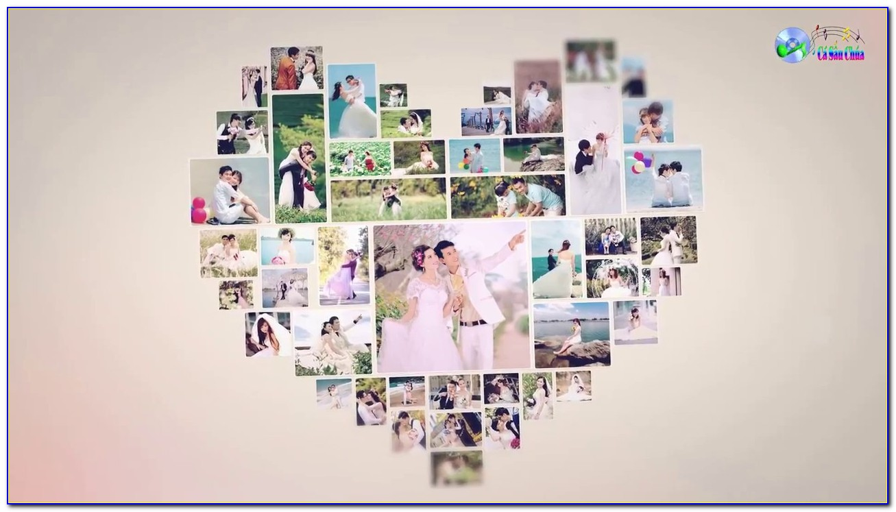 After Effects Templates Wedding Photo Montage