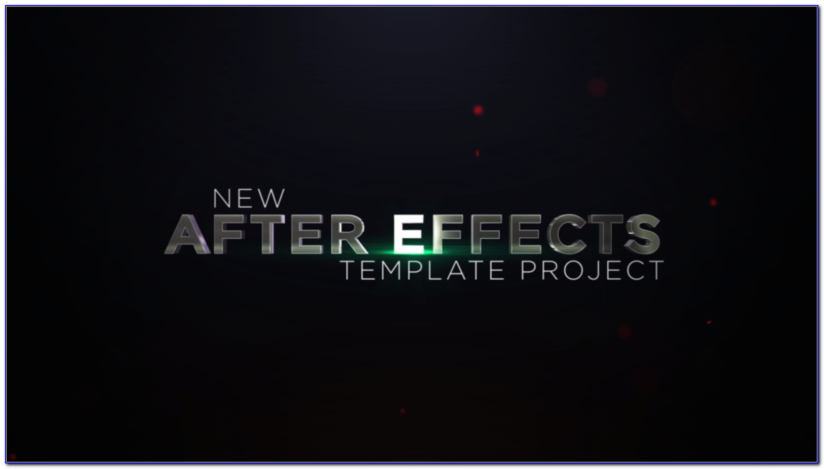 After Effects Title Intro Templates Free Download