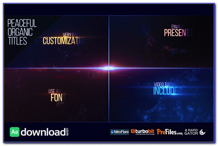 After Effects Title Templates Free Download Cs4