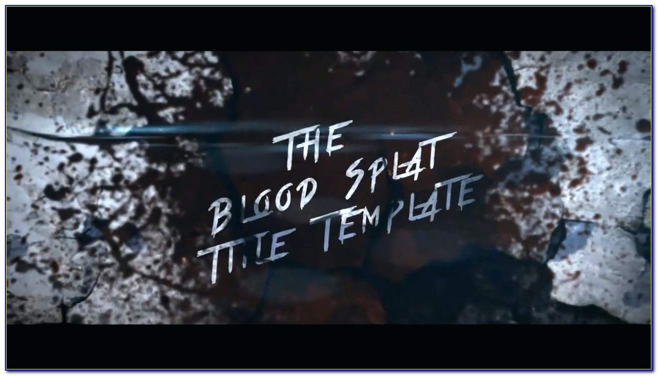 After Effects Title Templates Free Download Zip