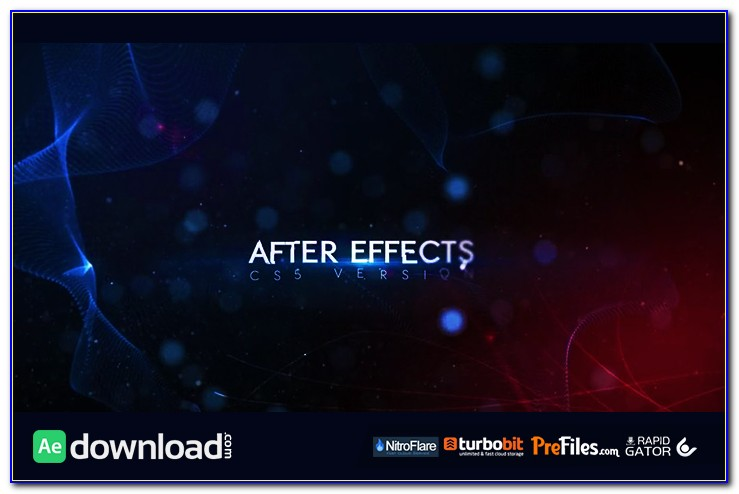 After Effects Title Templates Youtube