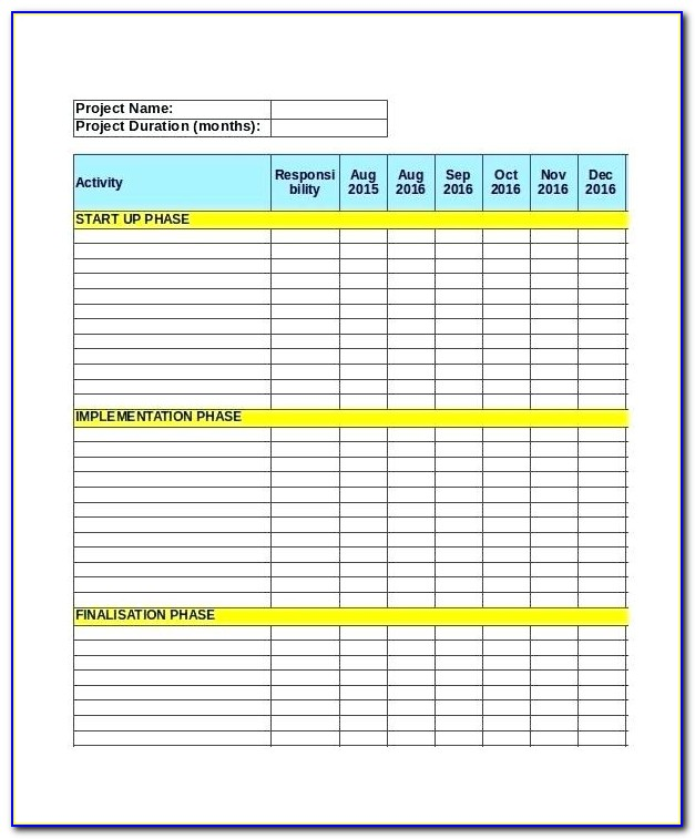 Agile Project Plan Template Excel Free Download