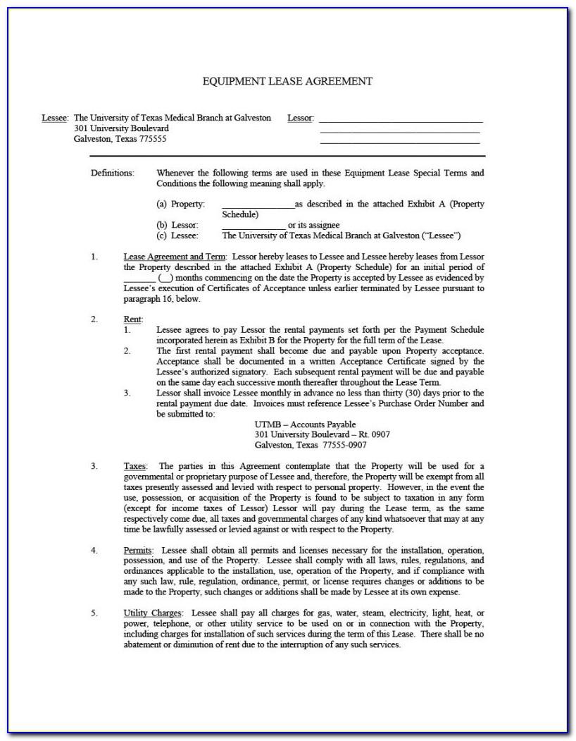 Agreement Lease Residential Form 400