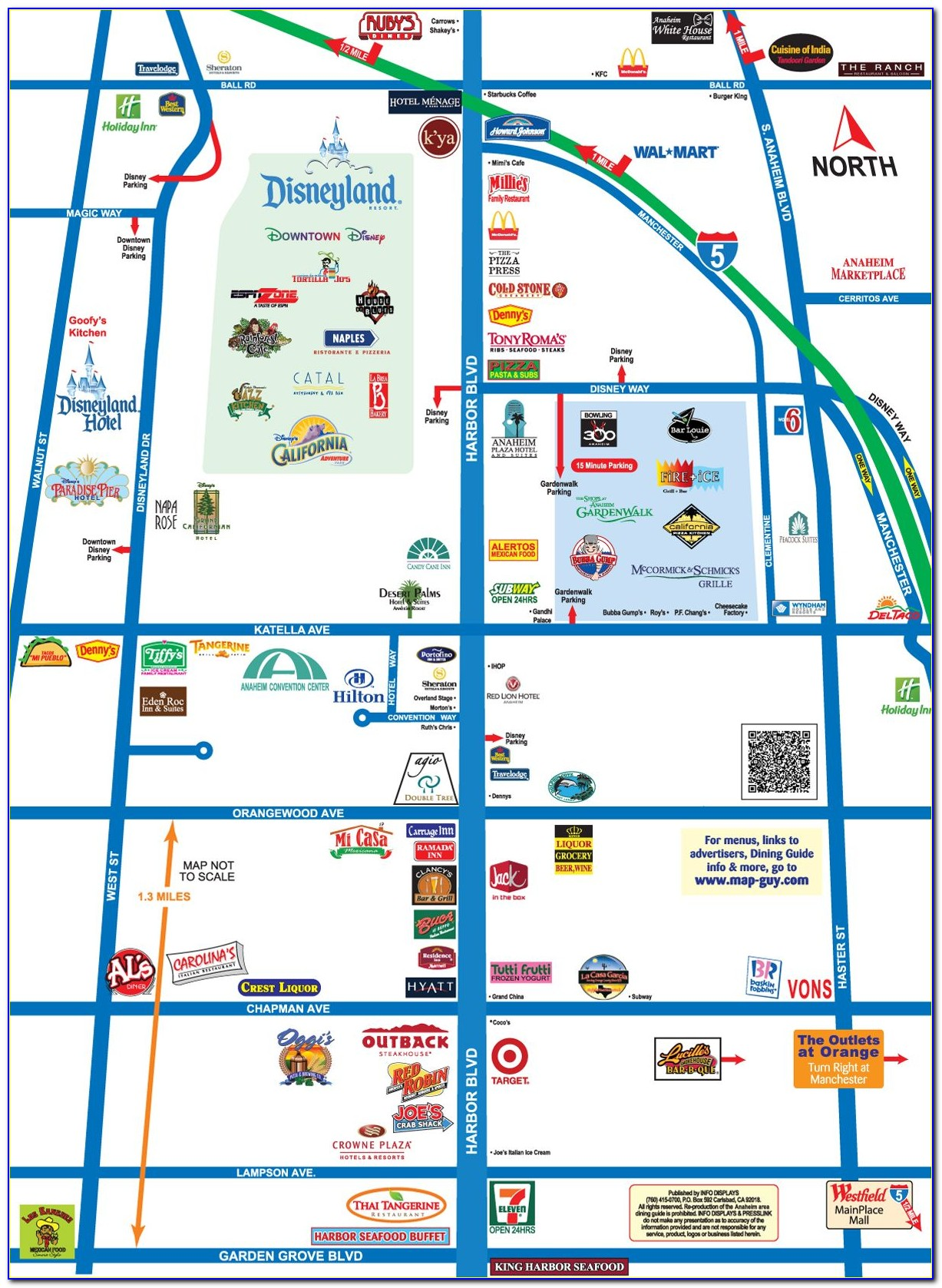 Anaheim Hotels Google Maps