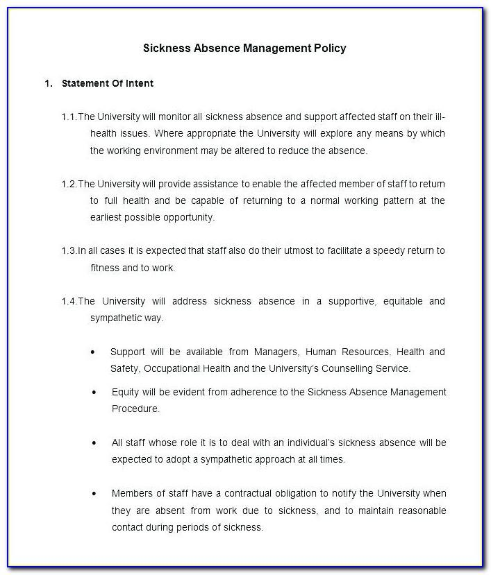Anti Harassment Policy Template