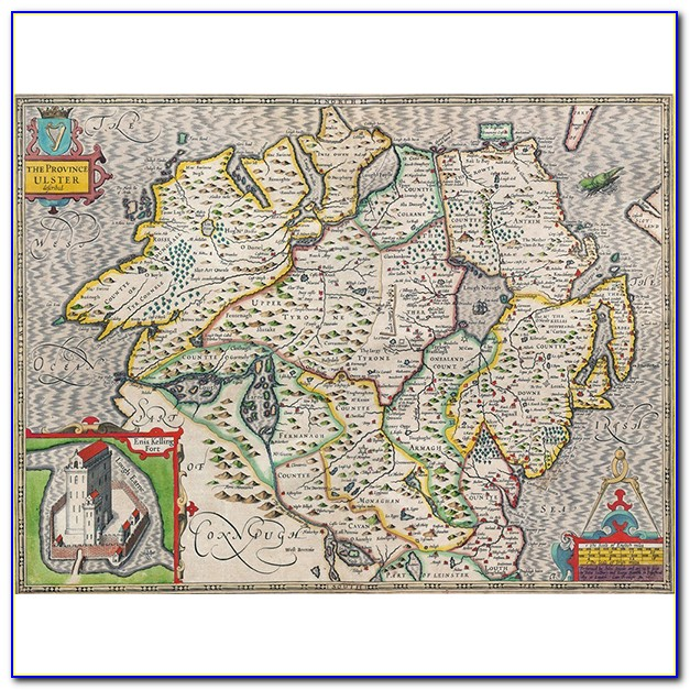 Antique Map Jigsaw Puzzles