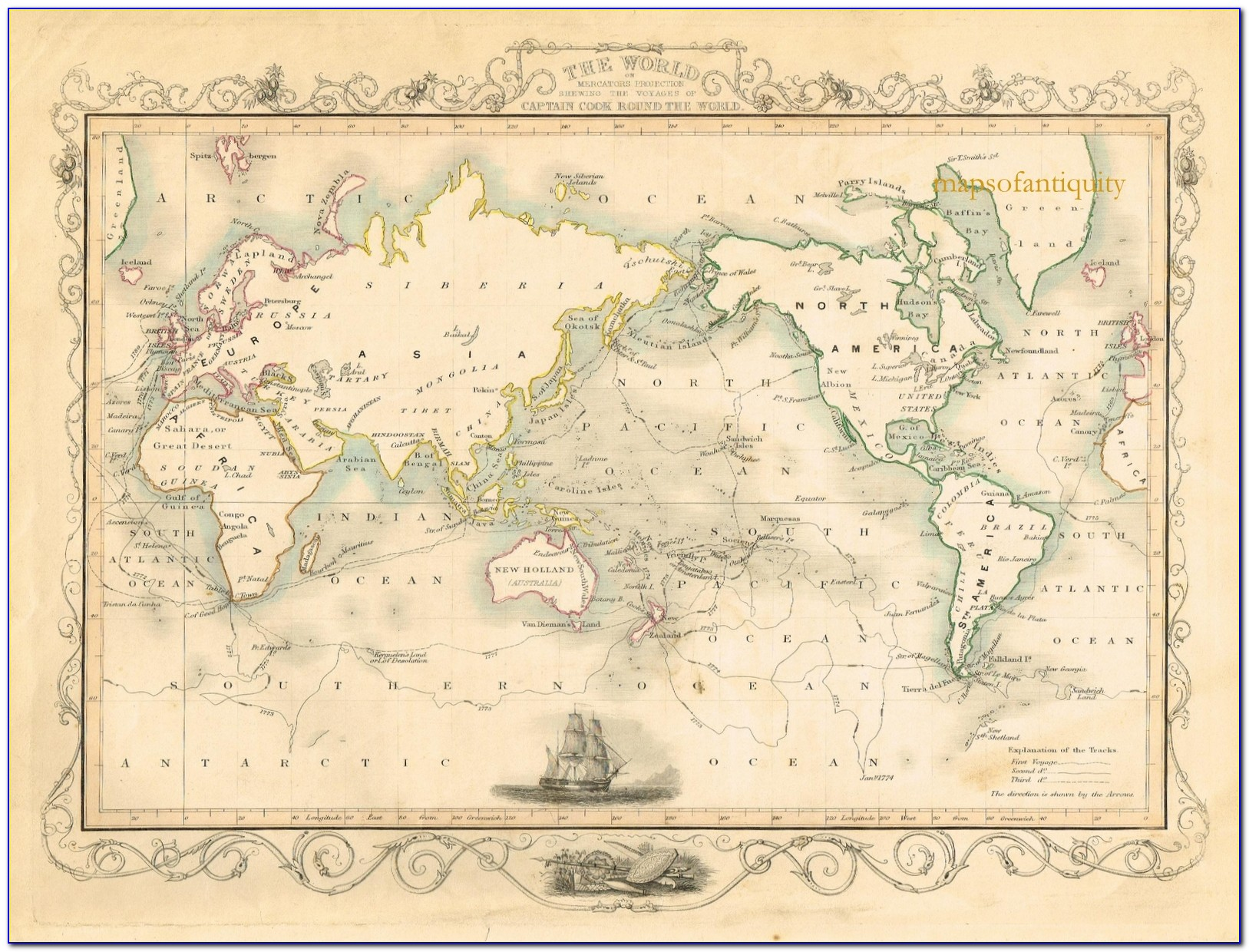 Antique Map Reproductions