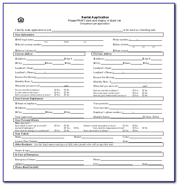 Apartment Application Template