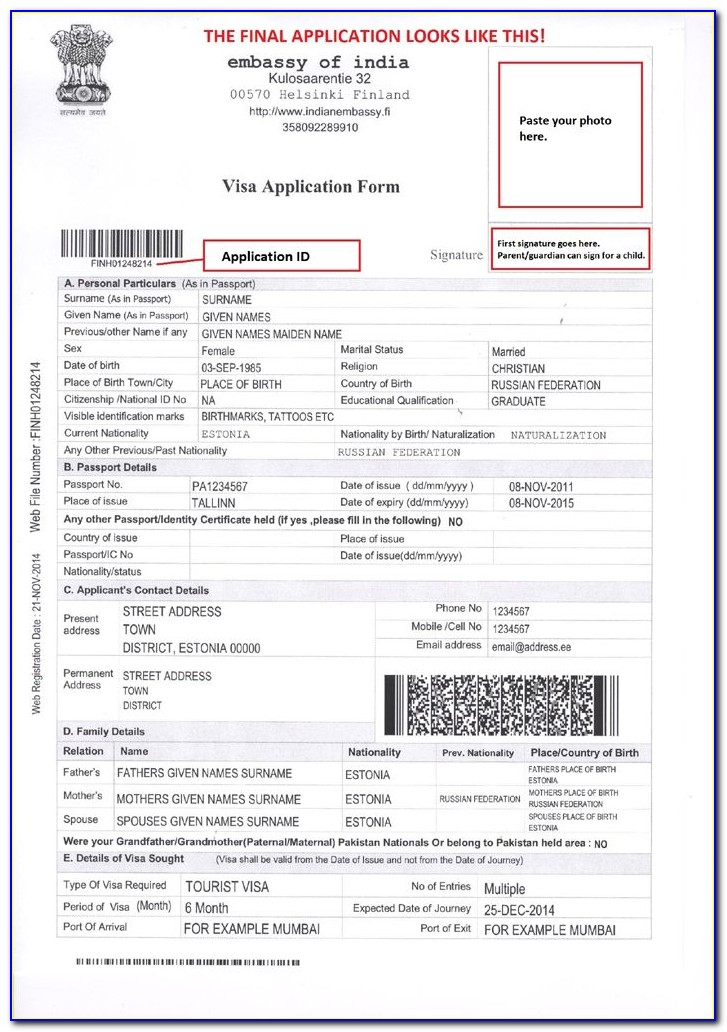 Apply For Indian Visa From Dubai
