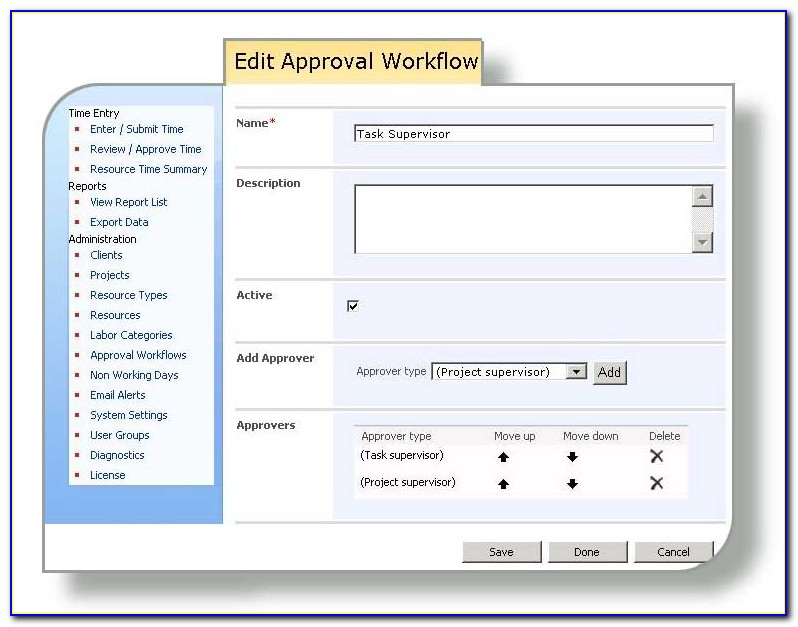 Approval Workflow Template Sharepoint 2013