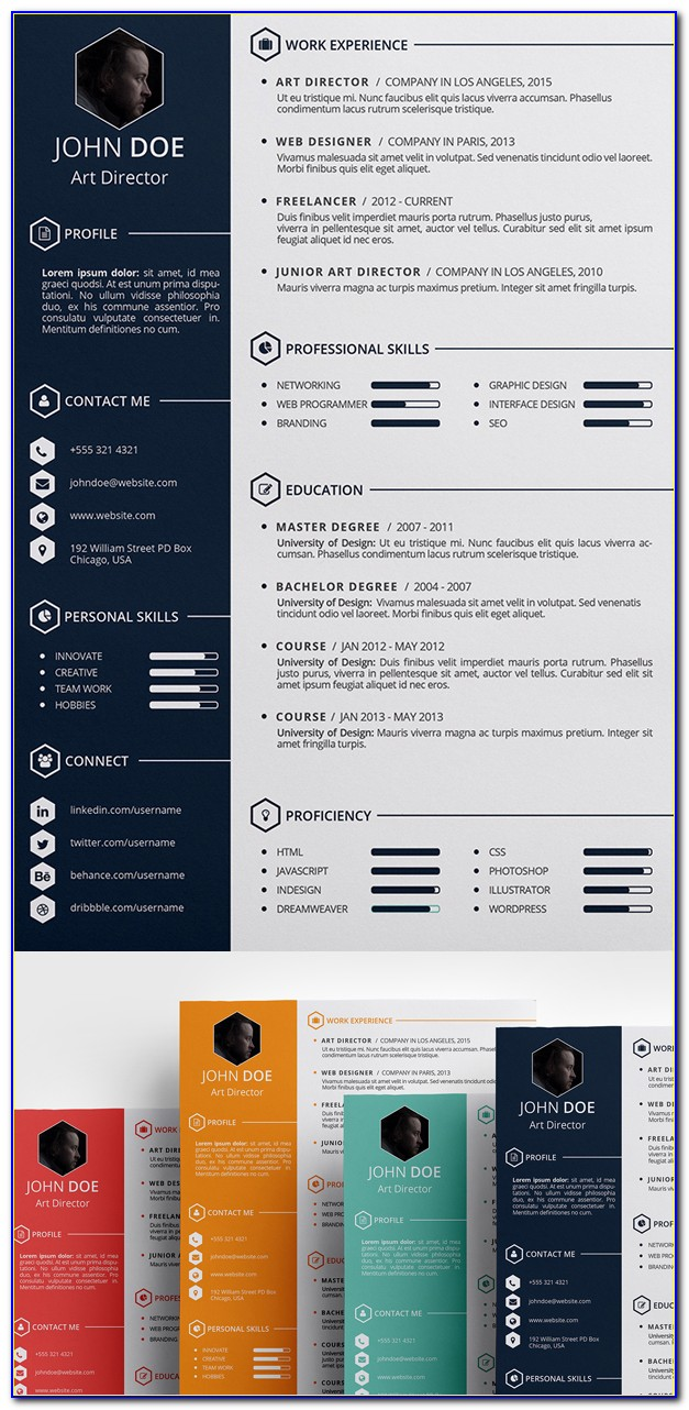 Architecture Cv Template Free Download