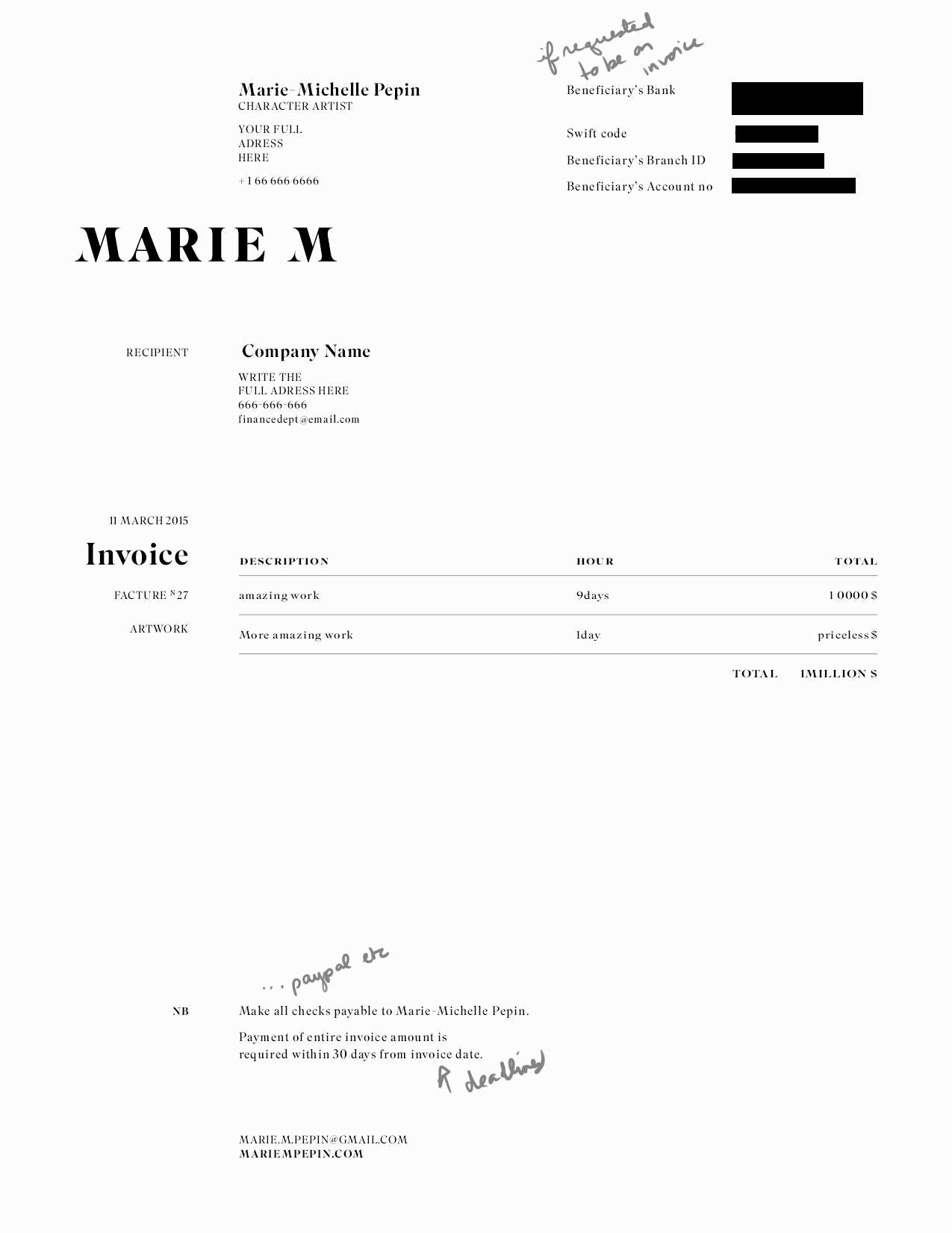 Freelance Artist Invoice 127538 50 New Makeup Artist Invoice Template Graphics Free