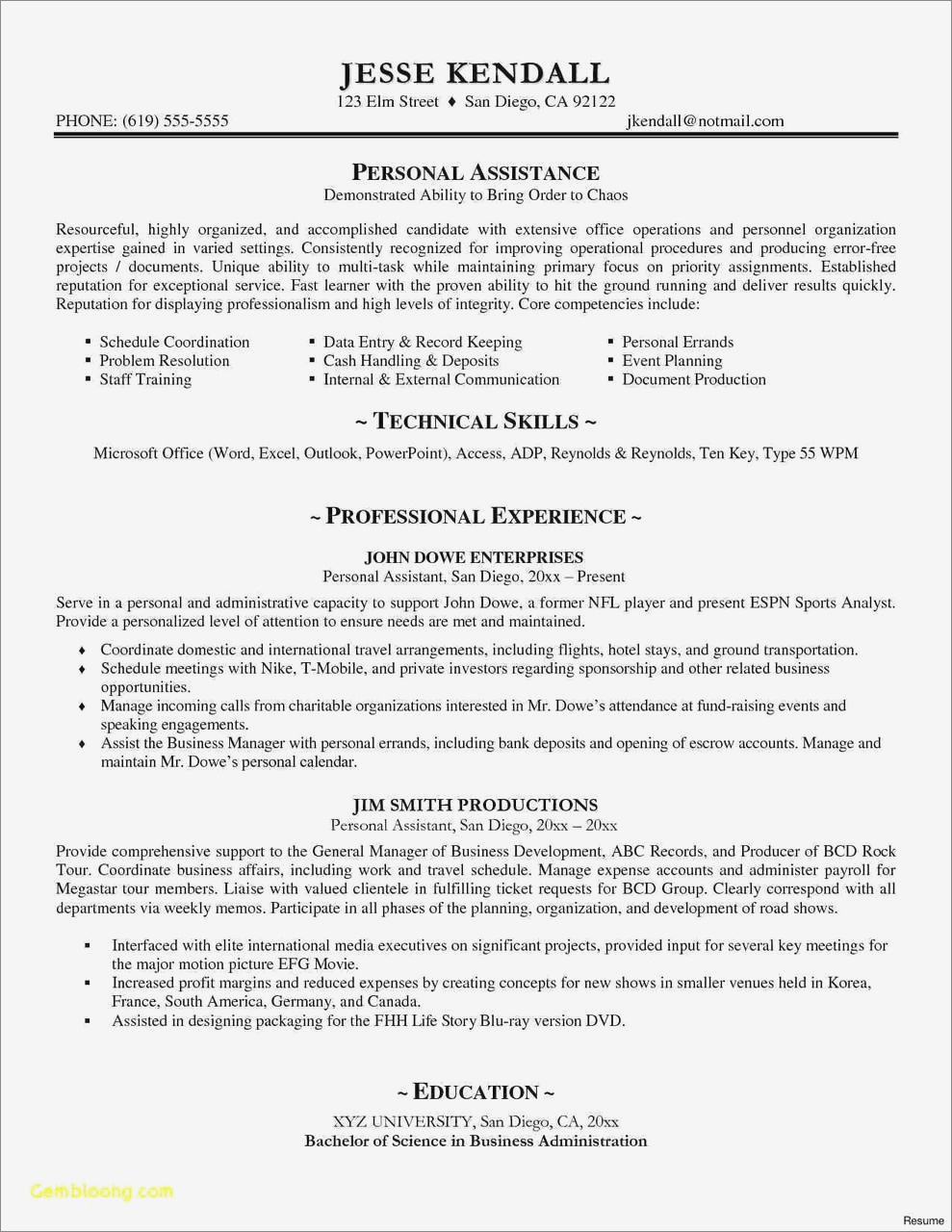 Attractive Resume Templates Free Download Pdf