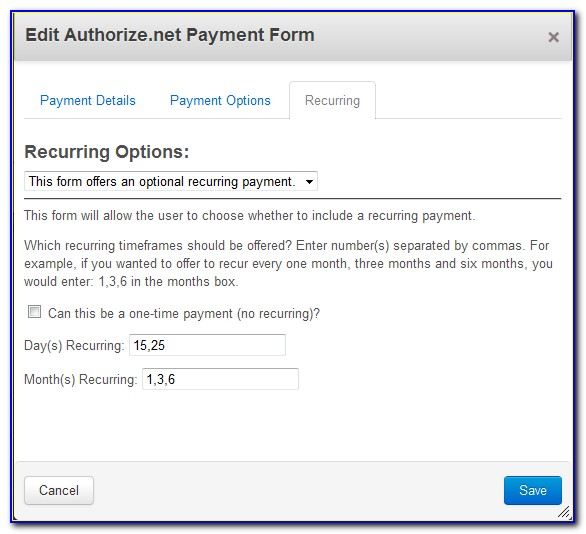 Authorize.net Payment Form Example Php