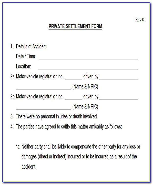 Auto Accident Release Form Ontario Vincegray2014