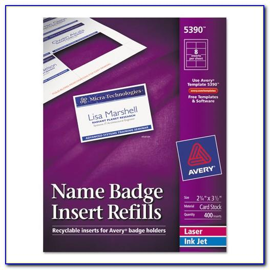 Avery Badge Template 74461