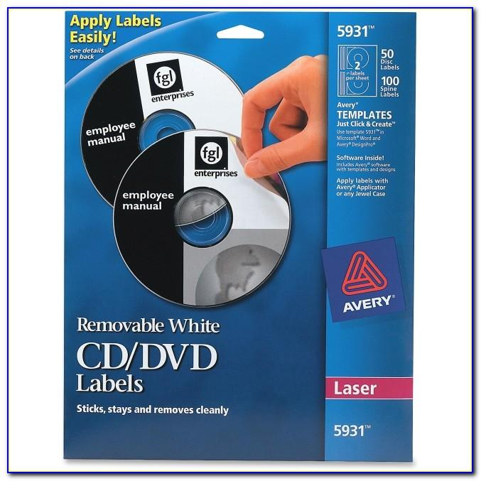 Avery Cd Labels Template For Mac