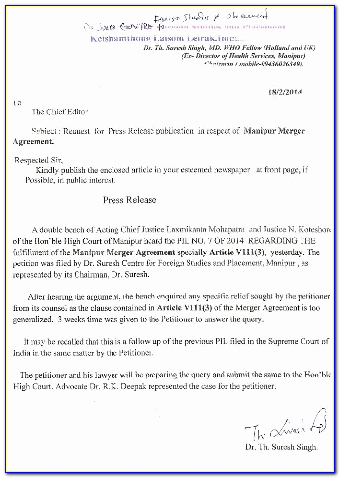 Image Gallery Merger Agreement Free Merger Agreement Template New Doc Xls Letter Download Templates Ttupw