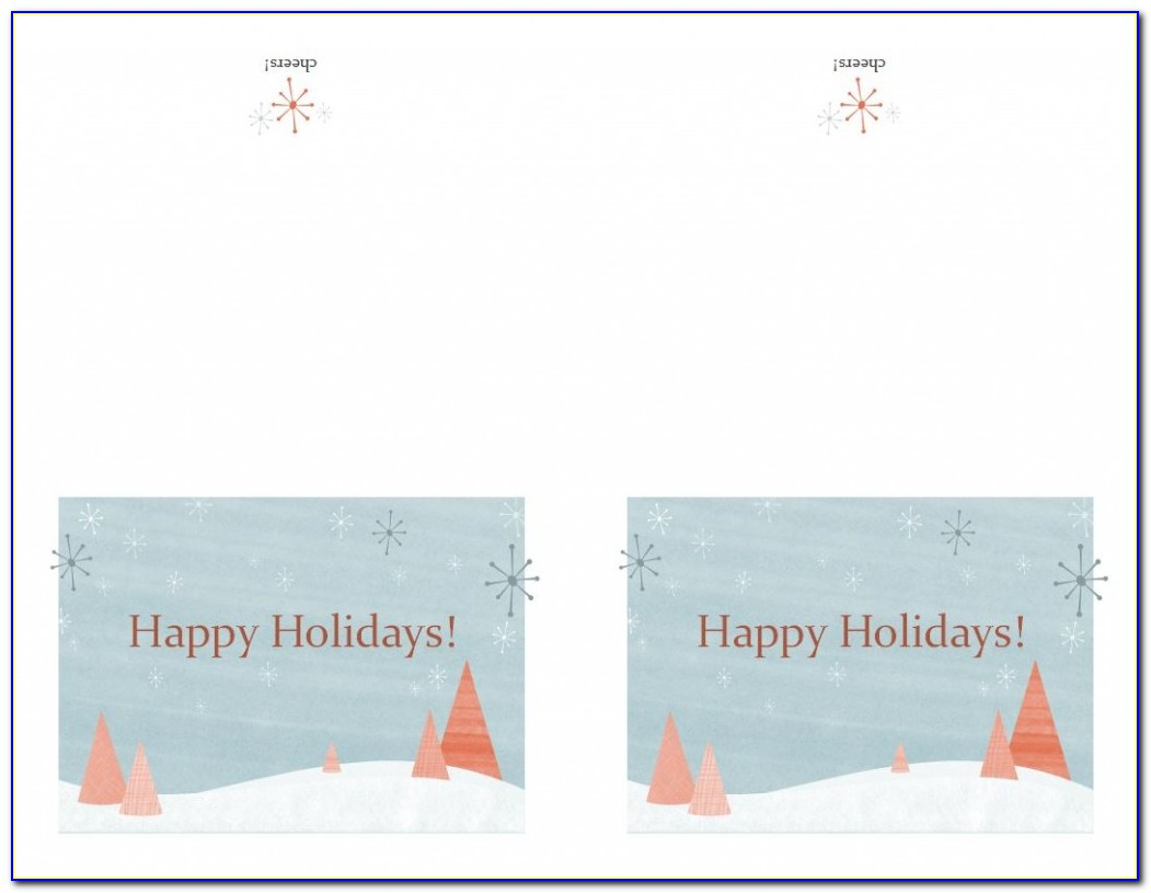 Avery Greeting Card Template 8315